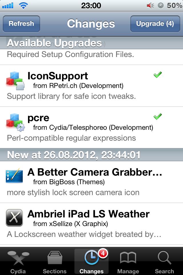 [iOS] Cydia – магазин полезных приложений и твиков