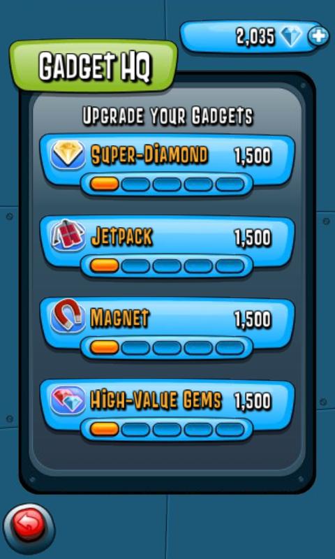 Agent Dash для Android - бегаем по джунглям, собираем алмазы и летаем на реактивных ранцах
