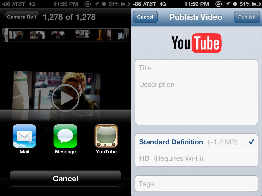 Apple отказываются от встроенного в iOS приложения YouTube