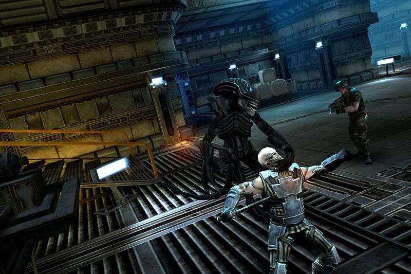 "Скоро появится экшен от третьего лица ""Alien vs Predator"" на iOS и Android"