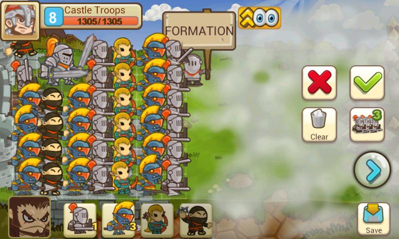 Little Empire для Android - настоящая онлайн стратегия