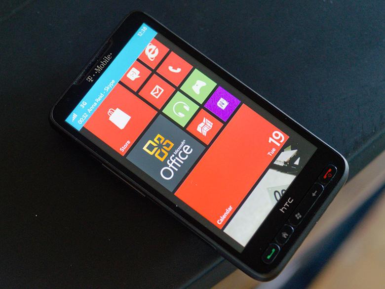 Команда DarkForcesTeam обновит HTC HD2 до WP8