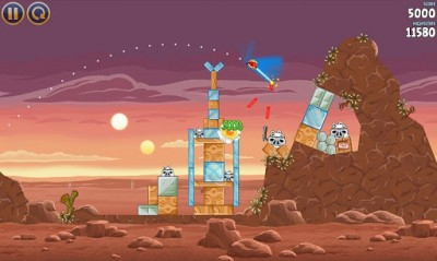 Angry Birds Star Wars - знакомая игра, но в далекой-далекой галактике