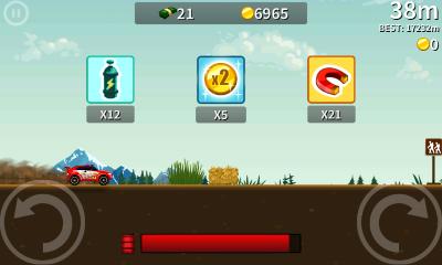 Hill Climb Racing и Road Trip 2 для Android - очень аддиктивные аркадные гоночки
