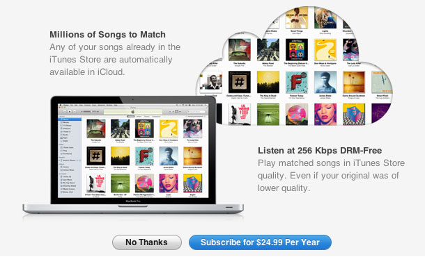 iTunes Match: лучший способ слушать музыку из облака