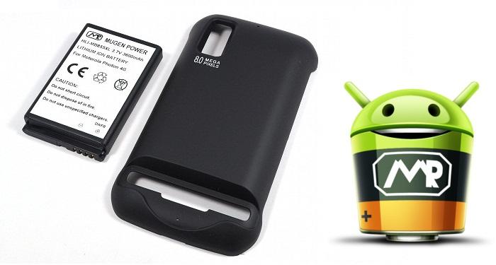 [Песочница] Mugen Power 3600 мАч - опыт использования аккумулятора для смартфона Motorola Photon 4g