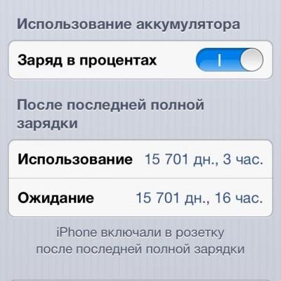 [Песочница] Опыт эксплуатации Apple iPhone 5