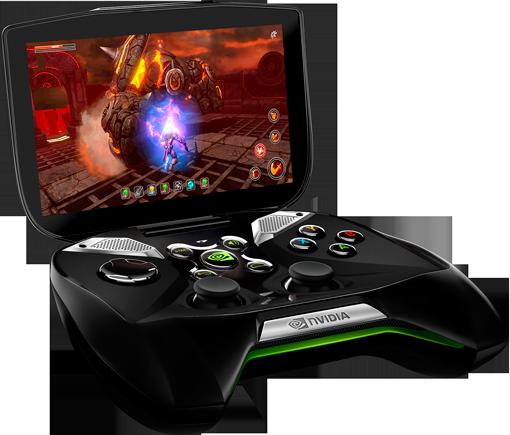Nvidia Project Shield собственной персоной.