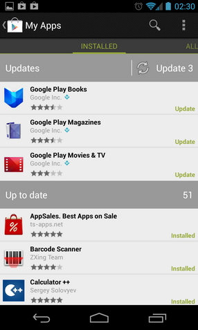 Google Play Hack