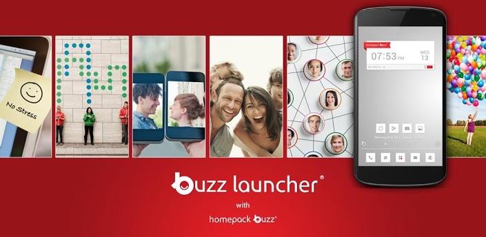 Buzz Launcher - кастомизация для ленивых