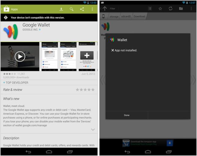 Nexus 7 (2013) имеет несовместимость с Google Wallet, зато получит 2 обновления ПО