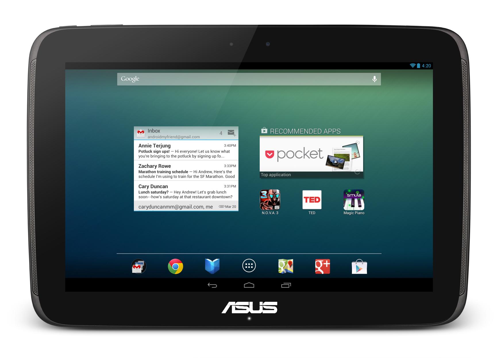 Nexus10-homescreen