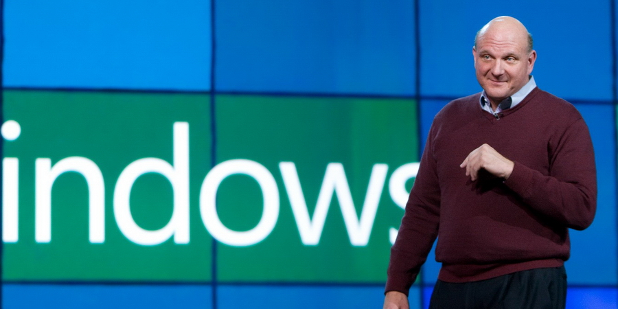 Стив Баллмер уходит с поста CEO Microsoft