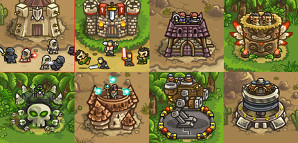 Kingdom rush new towers