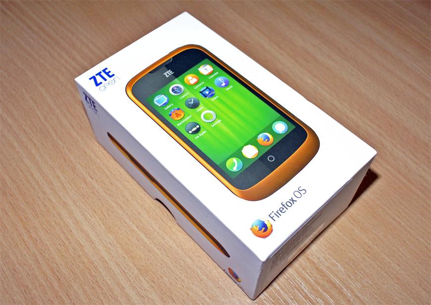 Знакомство с Firefox OS на примере смартфона ZTE Open