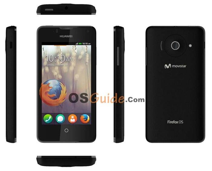 Huawei Ascend Y300II — будущий смартфон на Firefox OS