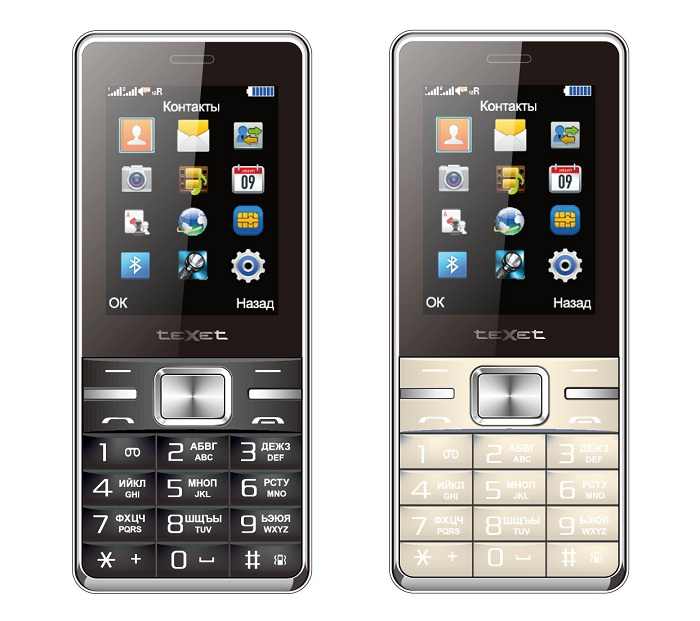 Телефон teXet TM-D223 – базовая функциональность, стильный дизайн