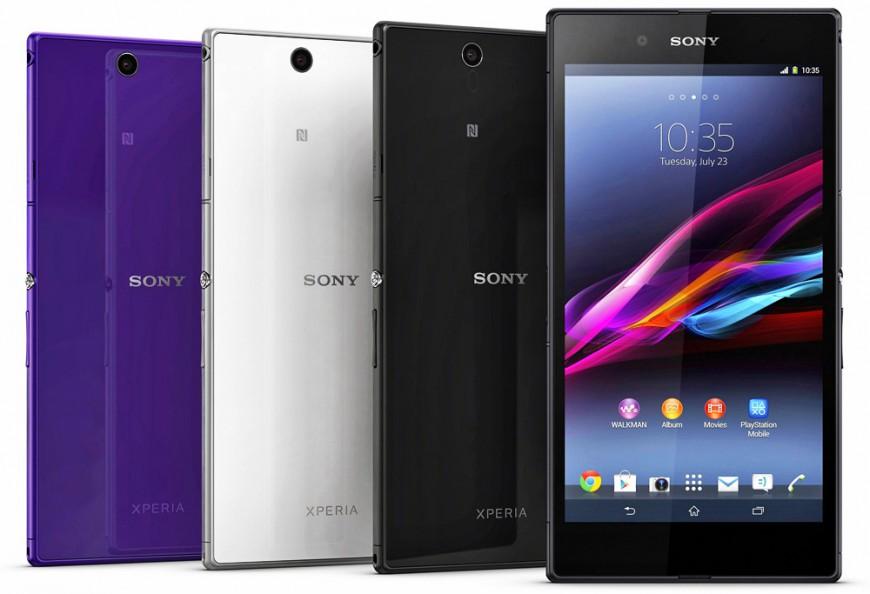 Обзор смартфона Sony Xperia Z Ultra