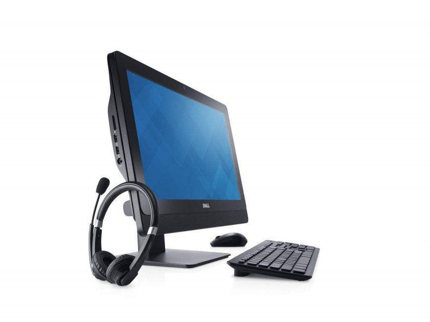 OptiPlex 3030 AIO Desktop with Keyboard and Headset