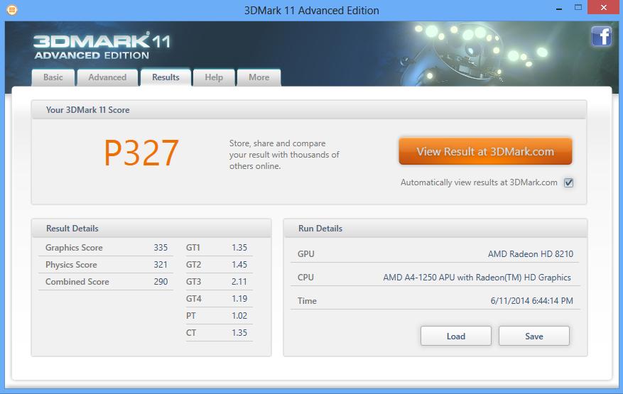Для сравнения: Intel Bay Trail Graphics - Р209, Intel HD4000 - Р621