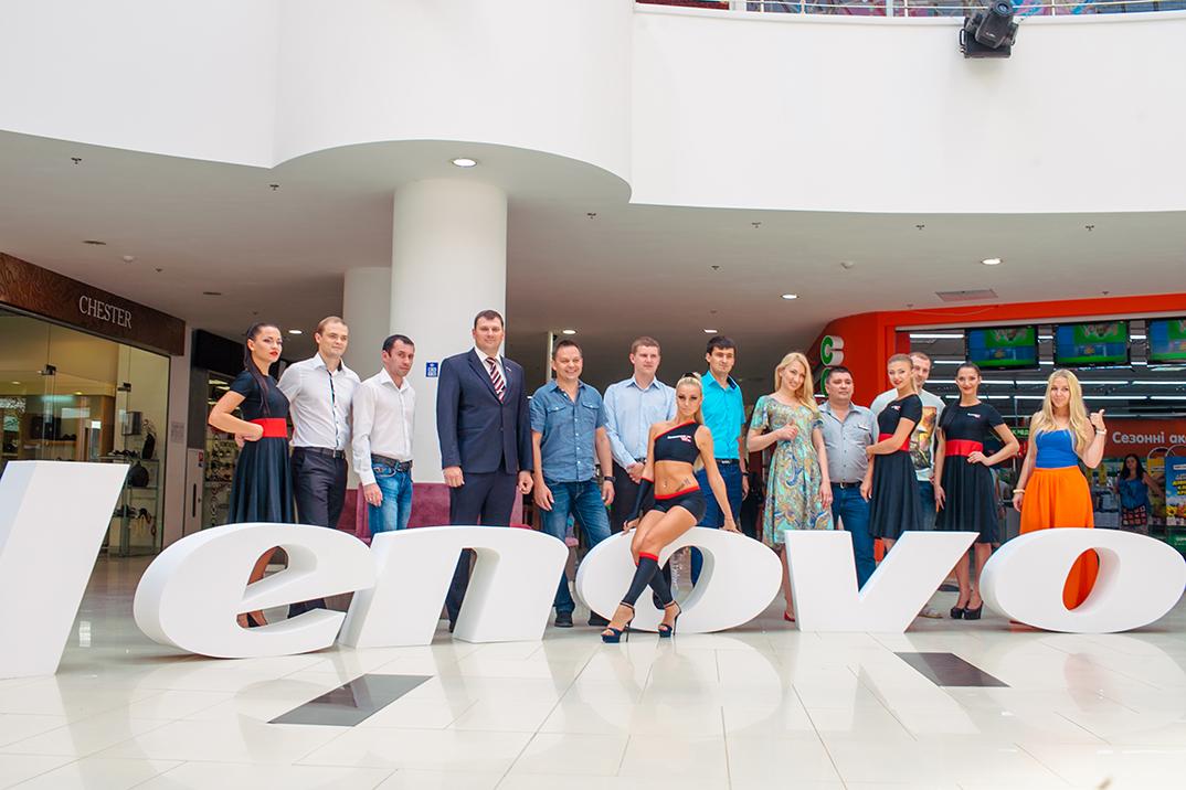 Компания Lenovo открыла фирменный магазин в Одессе