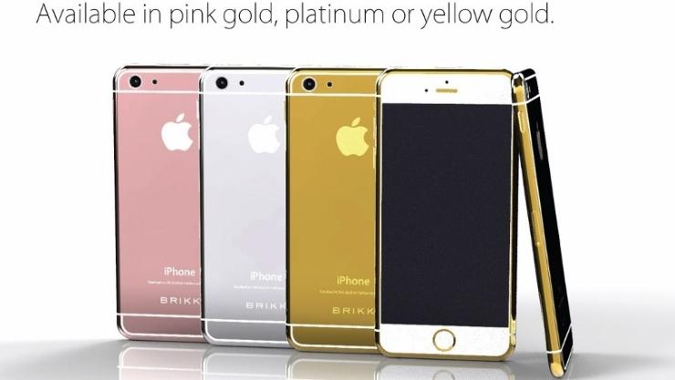 Открыт предзаказ на iPhone 6 в платиновом или золотом корпусе