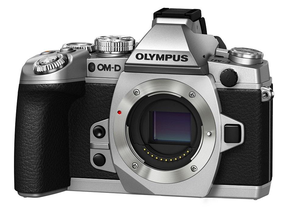 Olypus_E-M1_Silver_right_no-lens