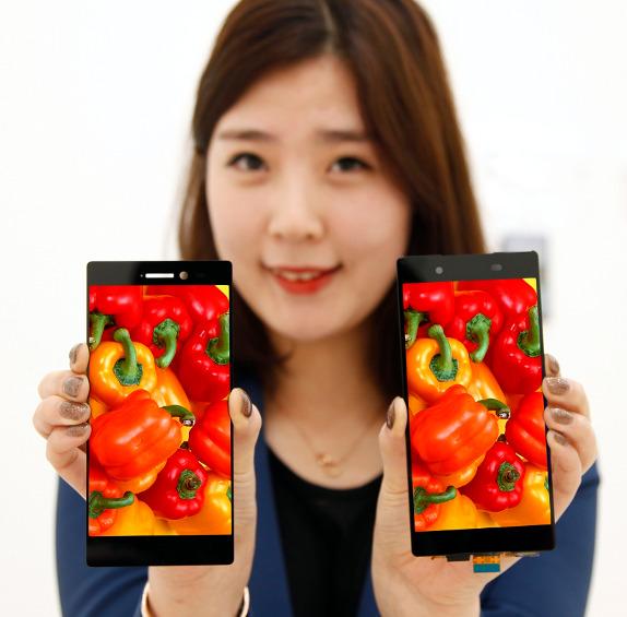 LG представила 5.3″ дисплей с очень тонкими рамками