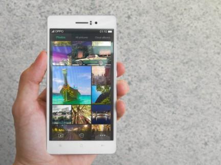 Oppo R5 – самый тонкий смартфон в мире