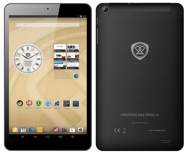 Prestigio представляет новую линейку планшетов MultiPad