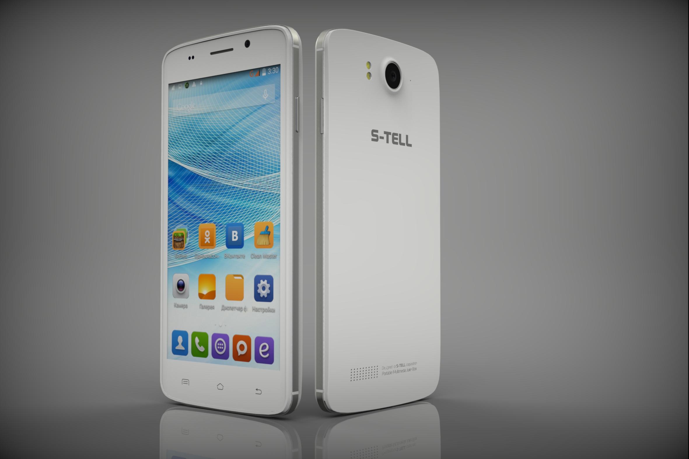 Компания S-TELL представляет новый смартфон M910