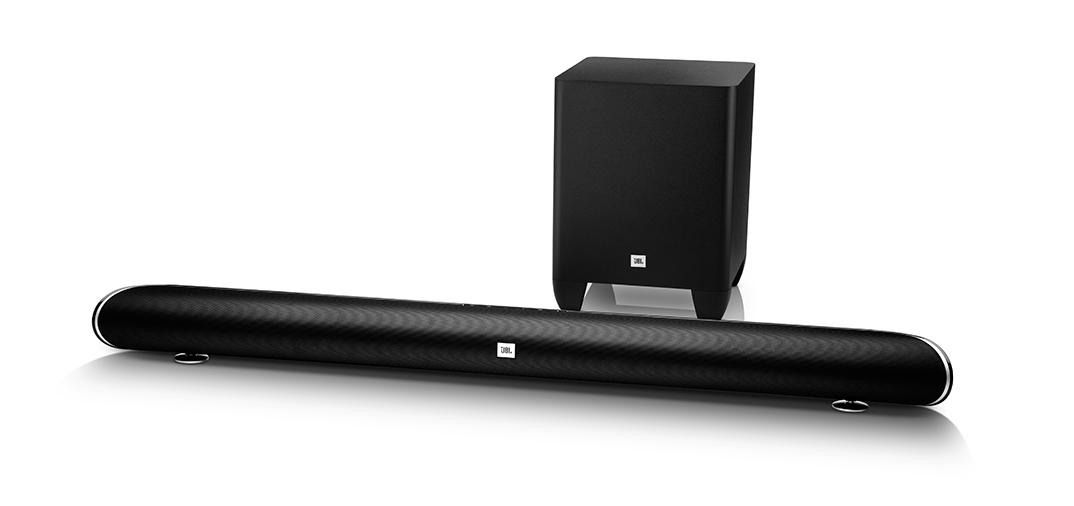 HARMAN представляет комплект из звуковой панели и беспроводного сабвуфера JBL Cinema SB350