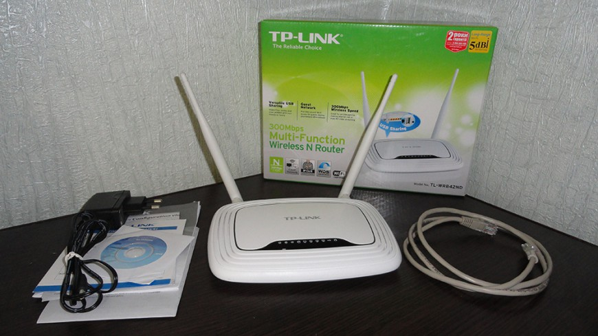Обзор роутера TP-LINK TL-WR842ND