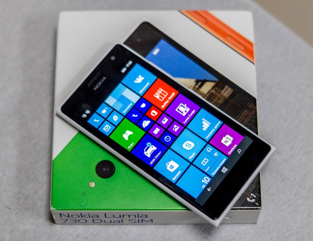 Обзор Nokia Lumia 730 – классика жанра
