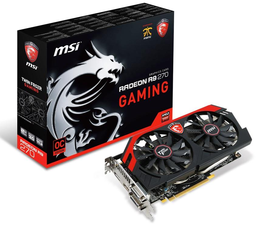 MSI Radeon R9 270 Gaming 2G