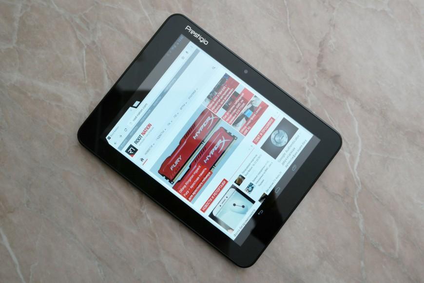 Prestigio MultiPad RANGER 8.0 3G #2 – процессор и операционная система
