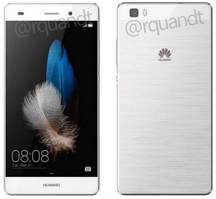 Появились изображения Huawei P8 Lite