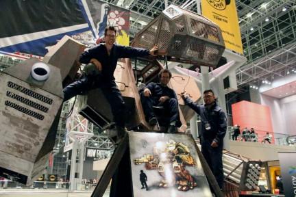 MegaBot vs Kuratas – Гигантский американский робот проведет бой с японским