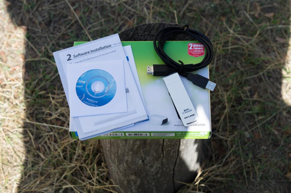 Миниобзор Wi-Fi USB-адаптера TP-LINK TL-WDN3200