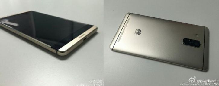 «Живые» фото и характеристики Huawei Mate 8
