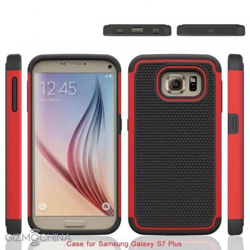 Galaxy S7 Plus edges