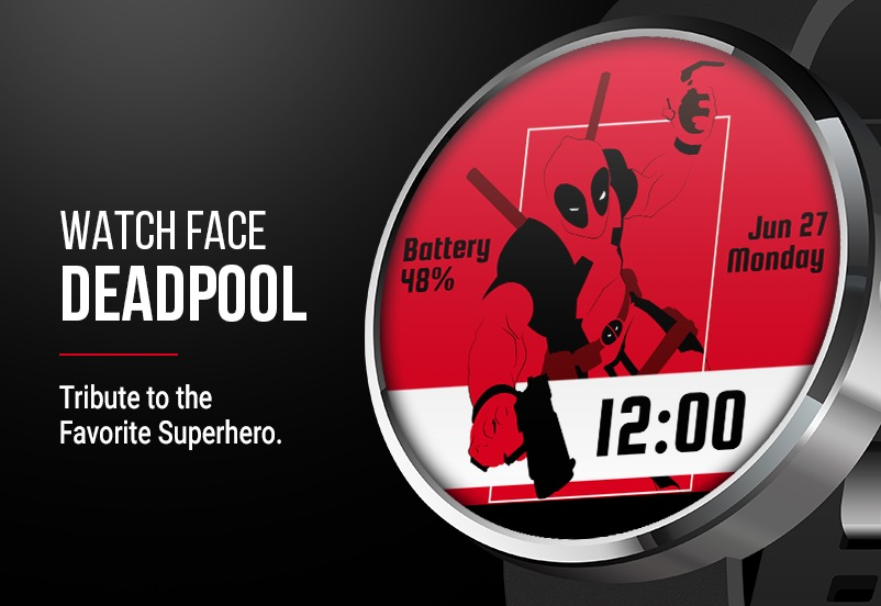Deadpool-Watch-Face