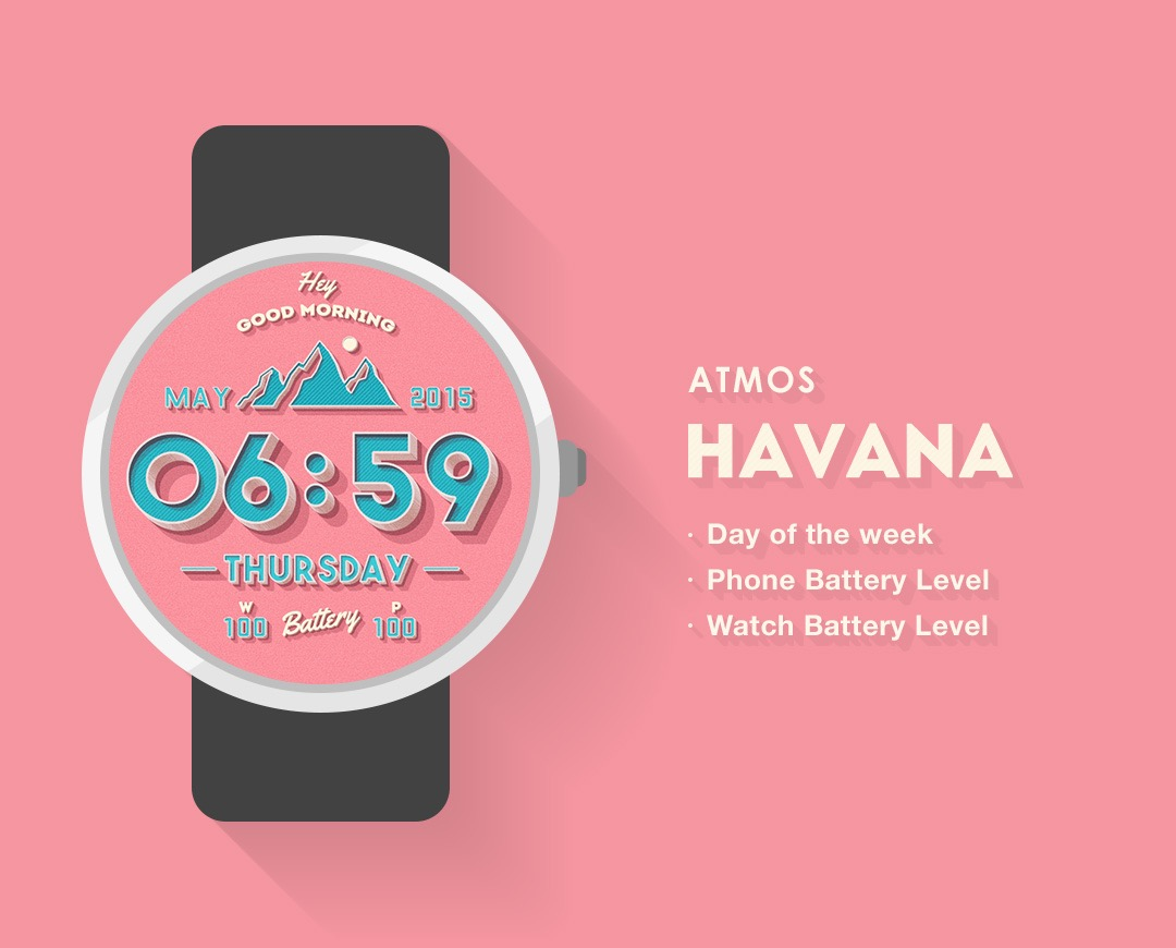 Havana-Watch-Face