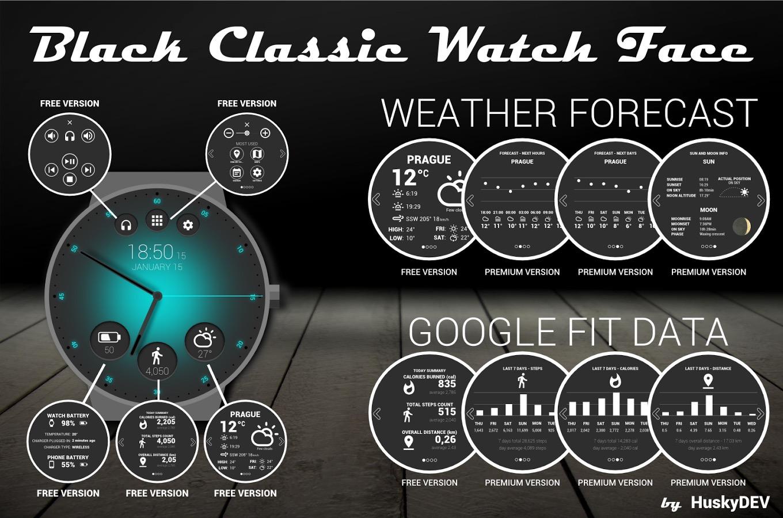 HuskyDEV-Black-Classic-Watch