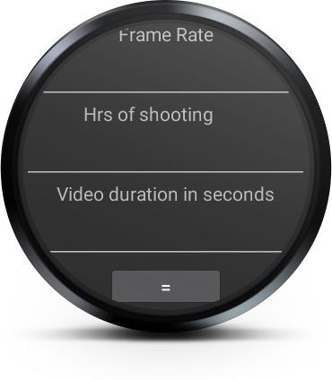 Wear-Timelase-Calculator