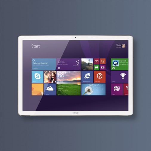 Huawei на MWC 2016: бизнес-планшет MateBook со сканером отпечатка и стилусом