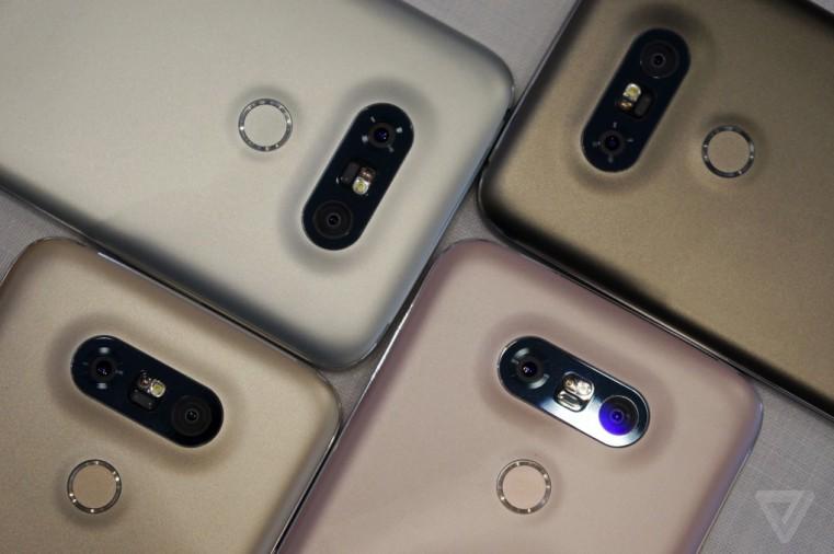 Официально представлен LG G5: модульный флагман с двойной камерой