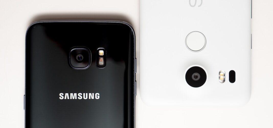 Samsung Galaxy S7 Edge vs Nexus 5X