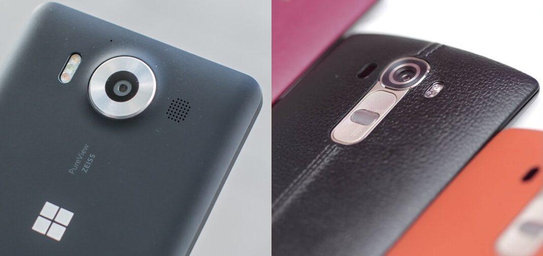 Lumia 950 vs LG G4