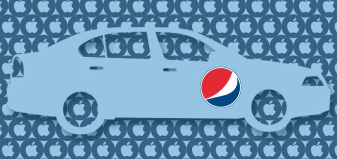 Apple Car Pepsi
